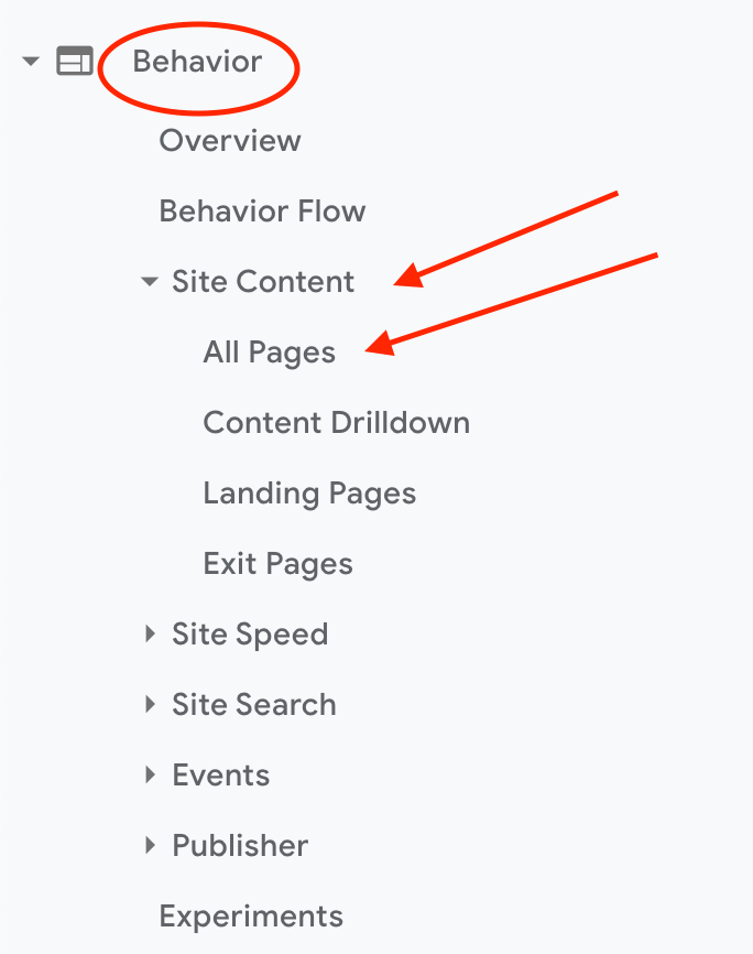 How to find the most popular Webflow pages on Google Analytics