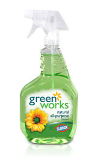 Green Works Natural All-Purpose Cleaner from Clorox