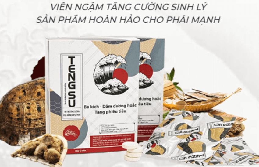 Chuyên sức khỏe sắc đẹp giới thiệu viên ngậm tăng cường sinh lý Tengsu