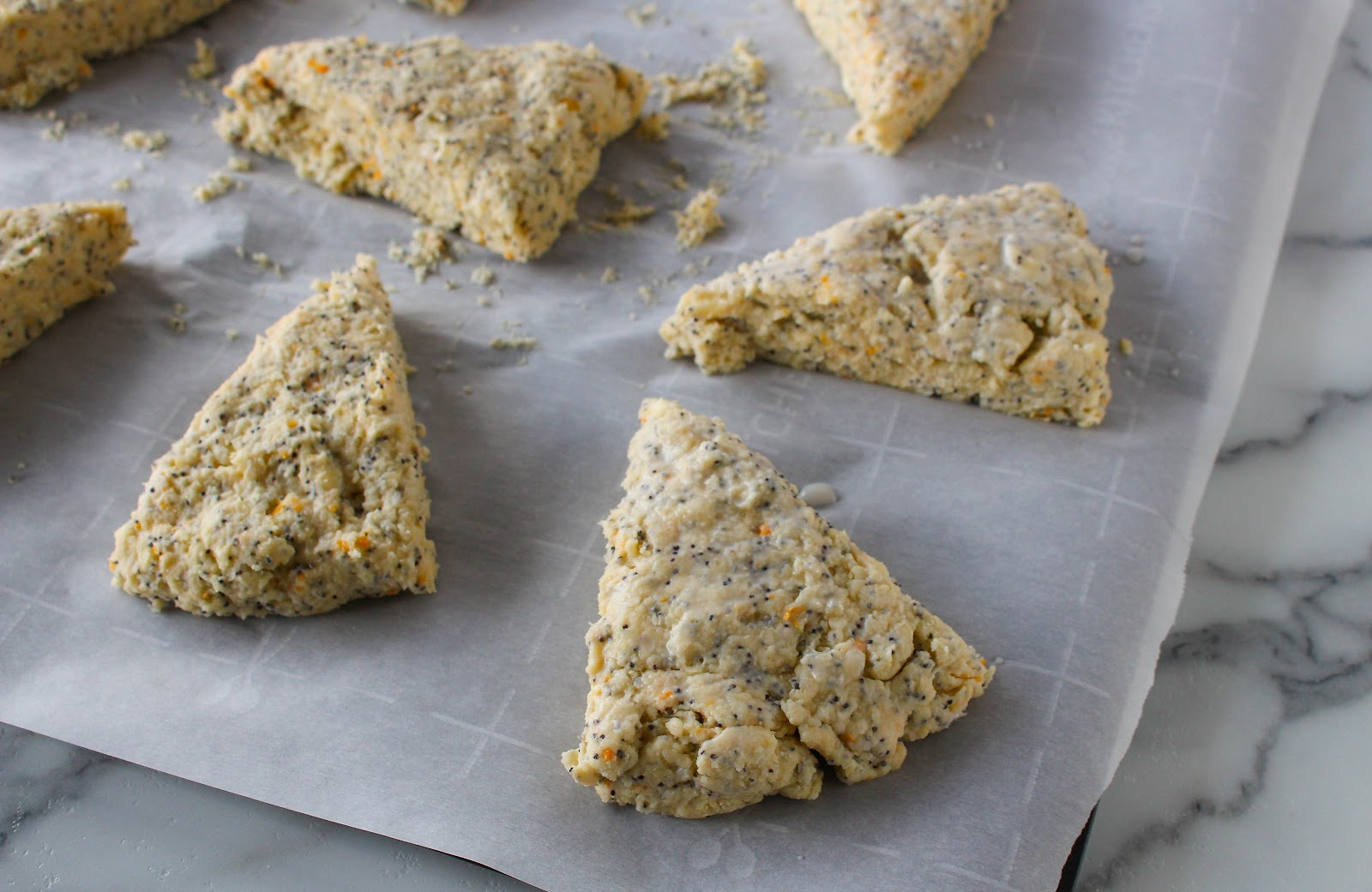 Grapefruit Poppy Seed Scones | Feelin' Whisky