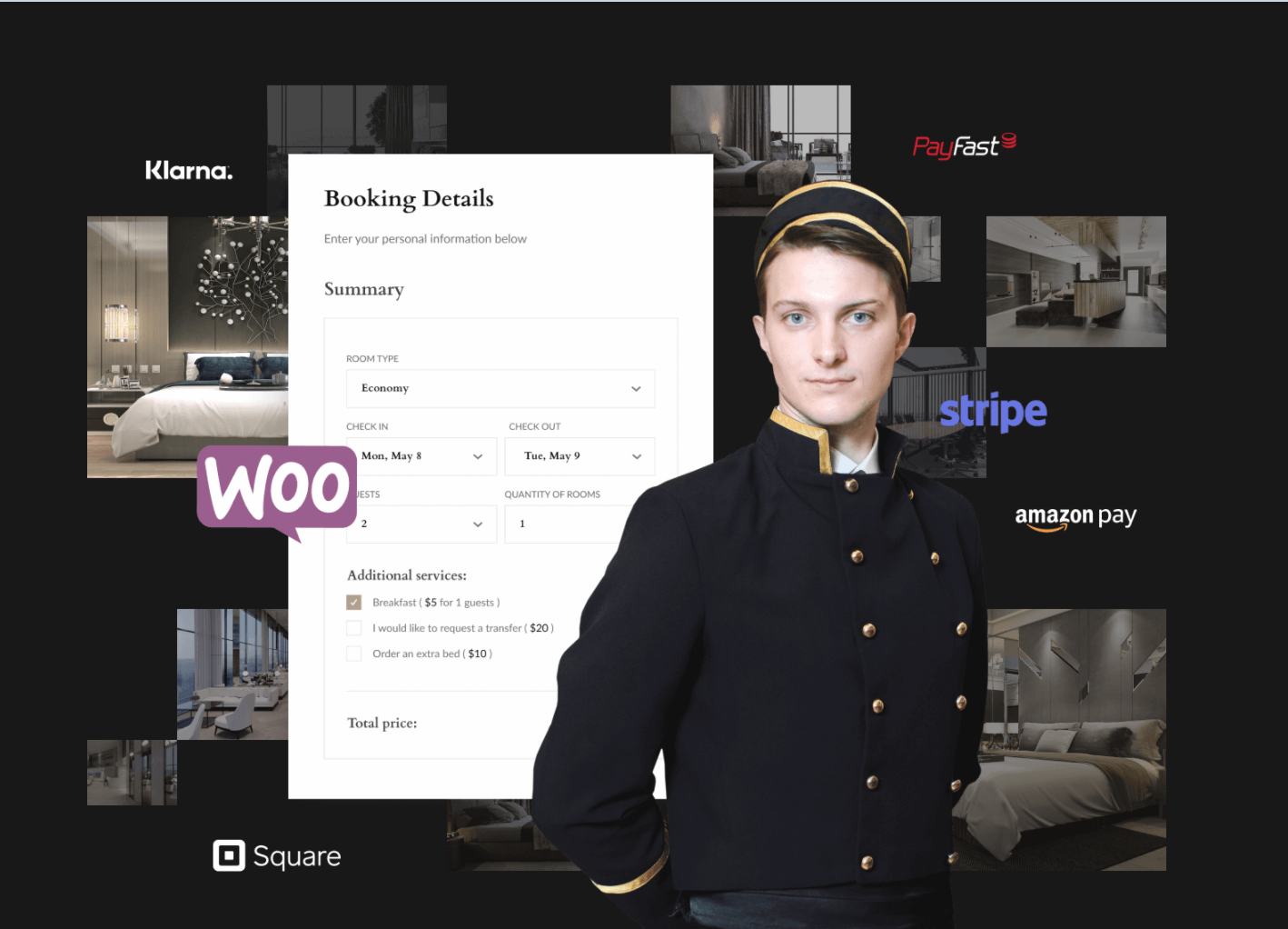 Hotel Booking Website for large hotels