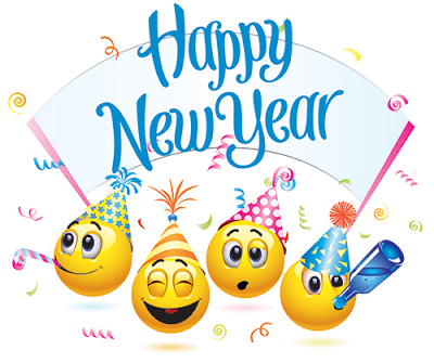 Image result for happy new year 2018 clipart