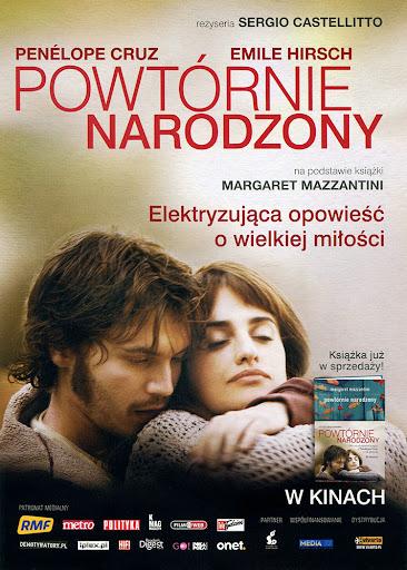 Przód ulotki filmu 'Powtórnie Narodzony'