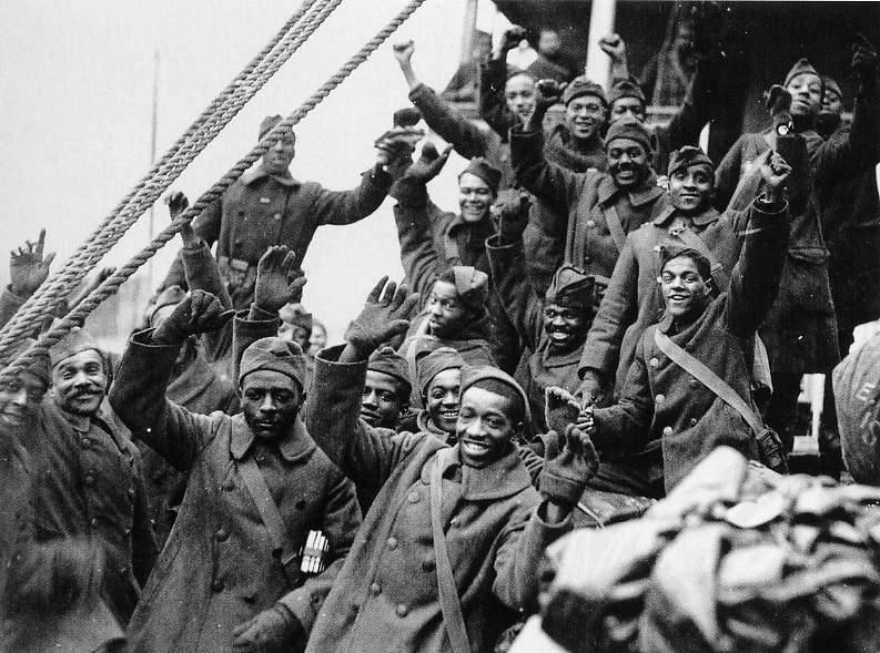 369th Infantry Regiment, 93rd Division, African-Americans, Croix de Guerre, Henry Johnson, Max Brooks, World War I, Harlem Hellfighters