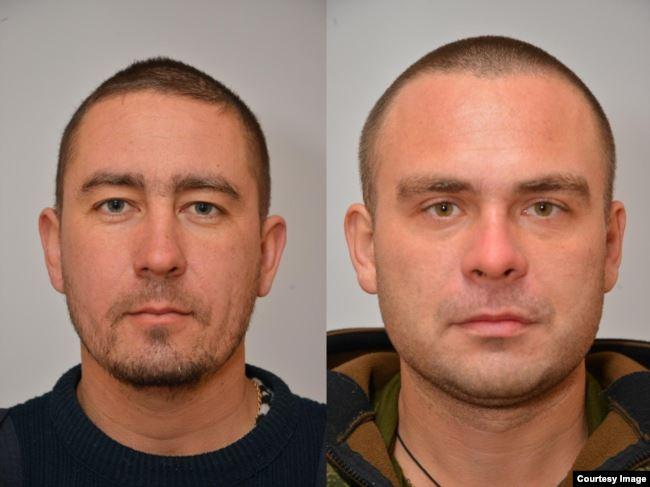 Денис Харитонов (слева) и Сергей Щербаков