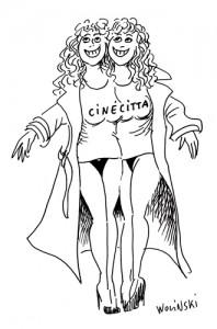 ne pub pour le magasin Cinecitta (1994)