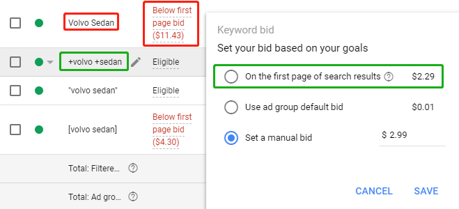 CenterRock - Google Ads Bid Adjustments