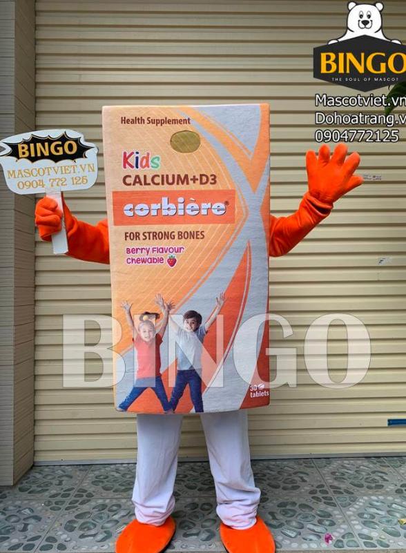 Mascot hộp Siro 01