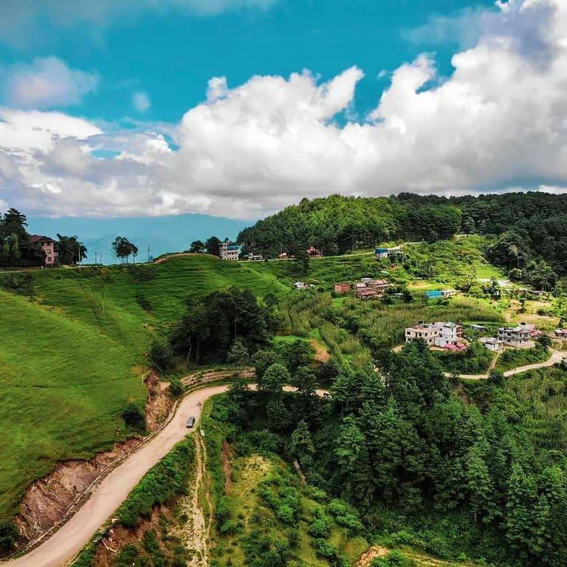 Greenery view of best honeymoon destination for couples| Nagarkot