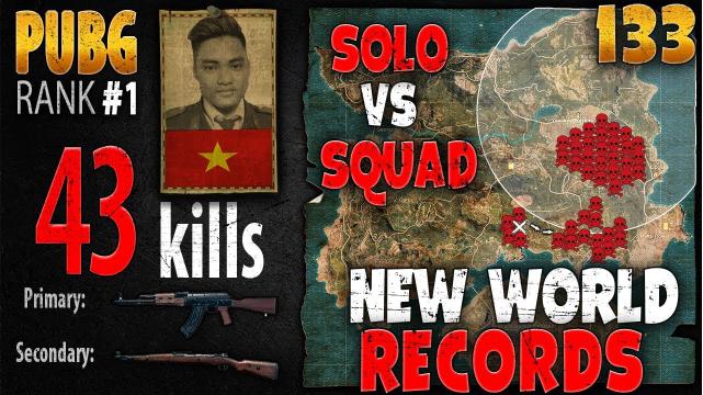 Rip113 lập kỷ lục thế giới với 43 kills ở thể thức Solo vs Squad TPP PUBG
