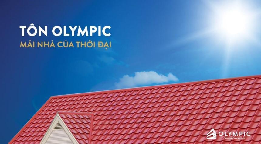 Tôn cách nhiệt thương hiệu Olympic đảm bảo chất lượng