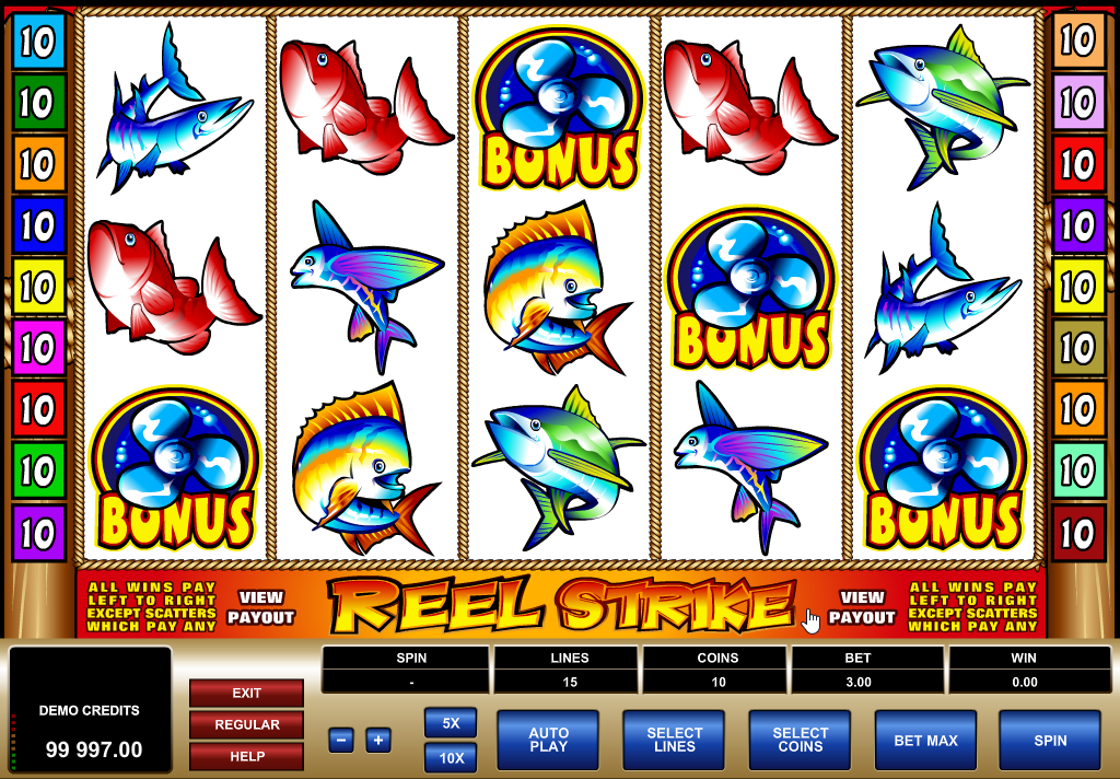 Reel Strike Slots Machine Review