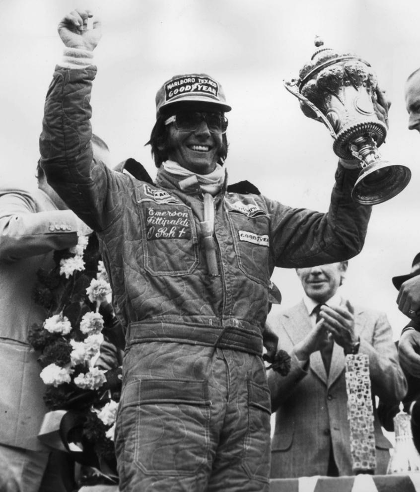 Image result for emerson fittipaldi 1975 british grand prix