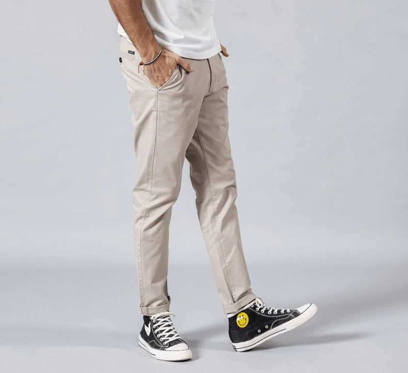 khaki pants men summer
