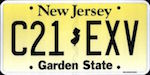 Image of the New Jersey state license.