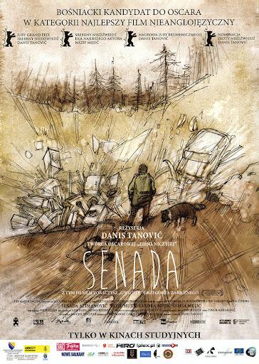 Przód ulotki filmu 'Senada'