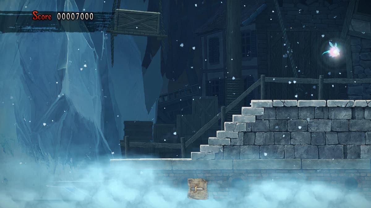 Ghosts 'n Goblins Resurrection Crystalline City Bee 3