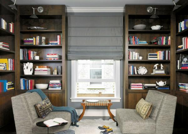 Shelves and Study Decoration