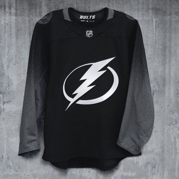 f04b5926f21 Overall the new Lightning 3rd jersey leaves you wanting it to be just a  little bit more than what it is. It hits the mark for out-of-the-box  thinking, ...