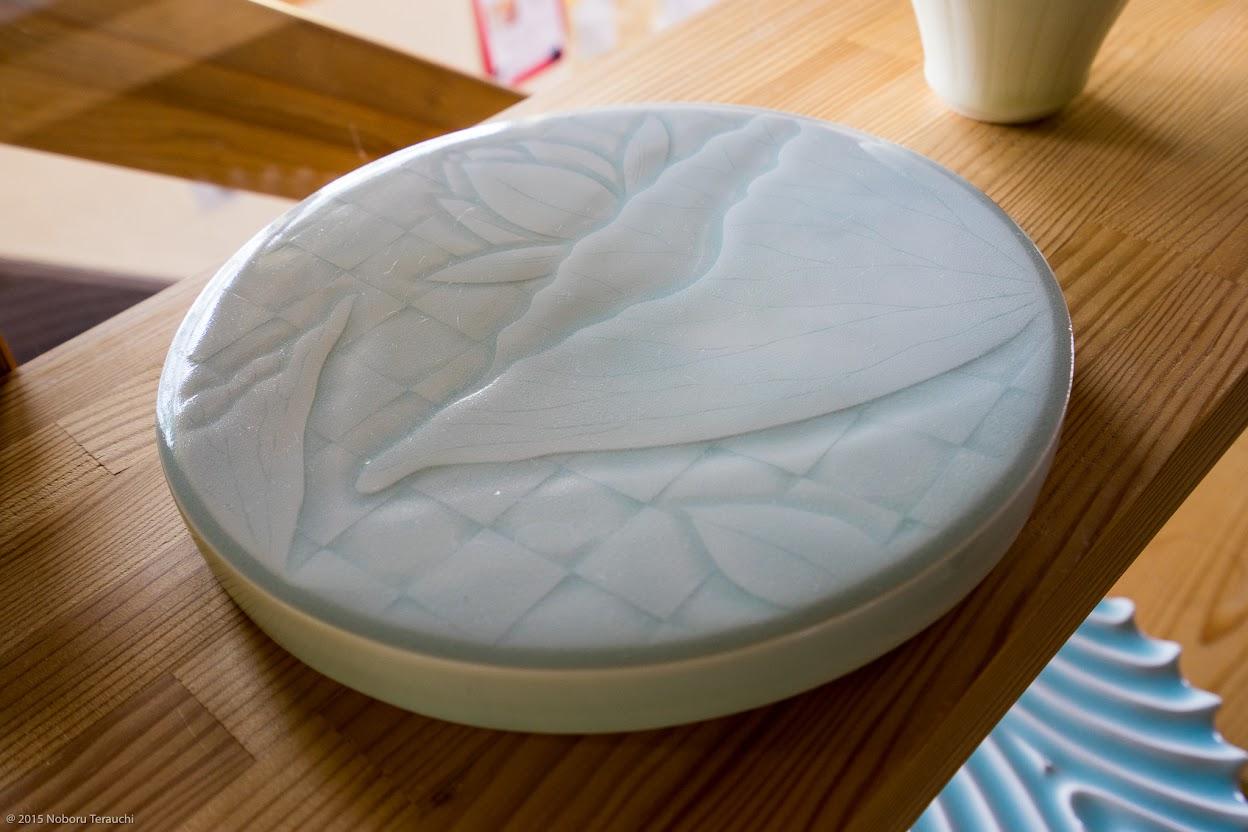 見事な絵柄入り陶器