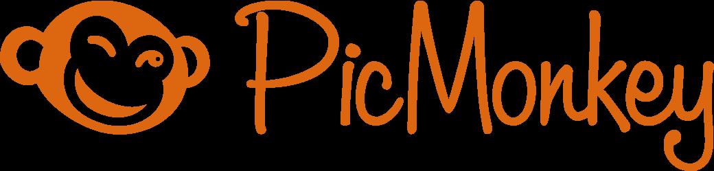 Image result for PicMonkey logo png