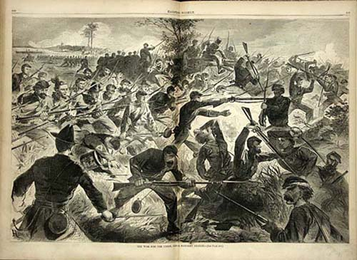 """Winslow Homer - """"The War for the Union - A Bayonet Charge"""""""