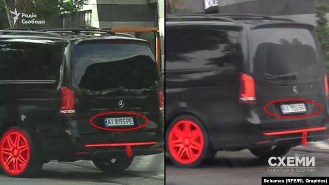 За всіма ознаками – це той самий автомобіль, який журналісти фіксували біля ЖК раніше