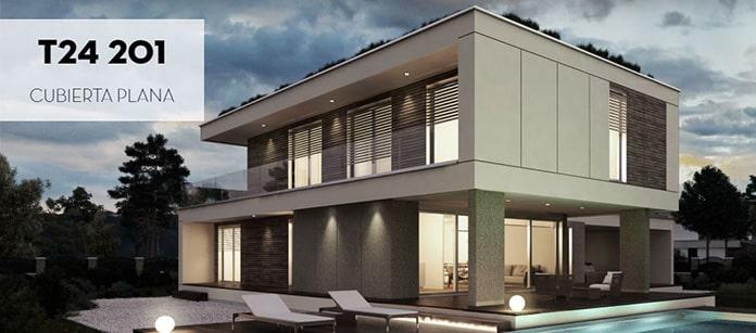casa-prefabricada-cubierta-plana-alta-eficiencia