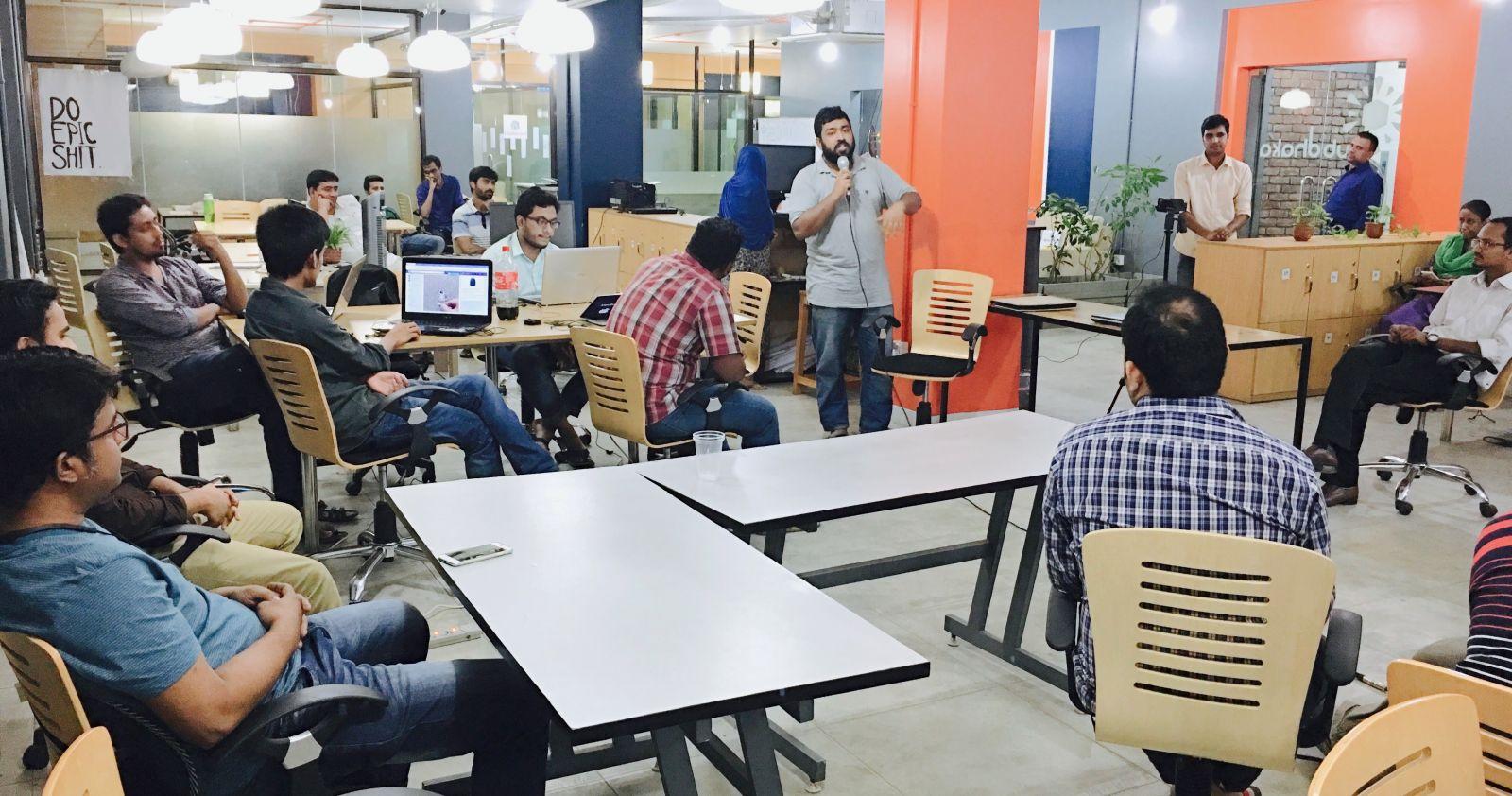 Hub Dhaka Coworking Space in Dhaka