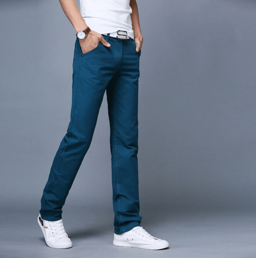 chino pants men summer