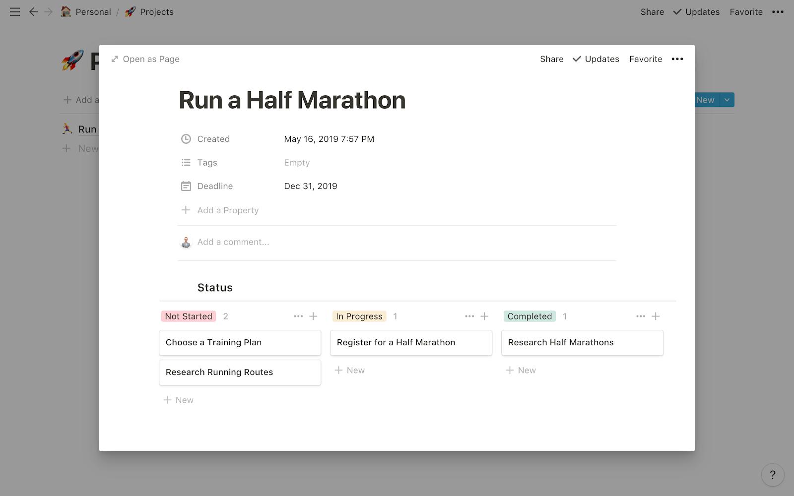 Run a Half Marathon