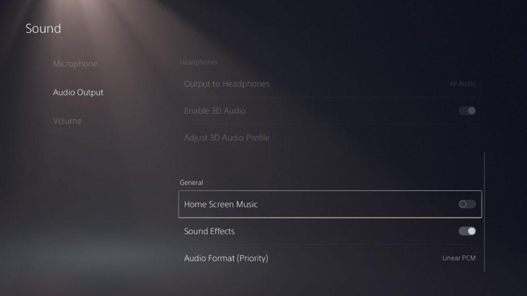 قم بإيقاف تشغيل موسيقى الشاشة الرئيسية