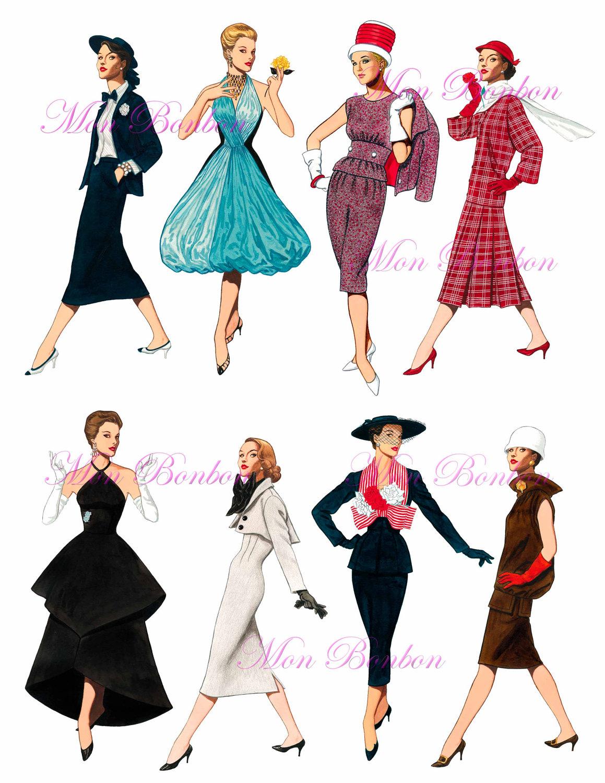 Fashion History Blog : 1950's Fashion