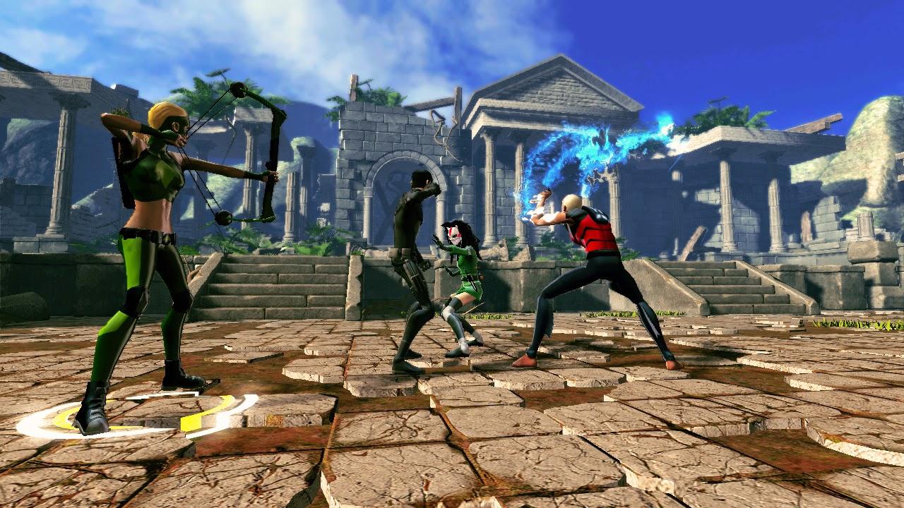 Hình ảnh trong game Young Justice Legacy (screenshot)