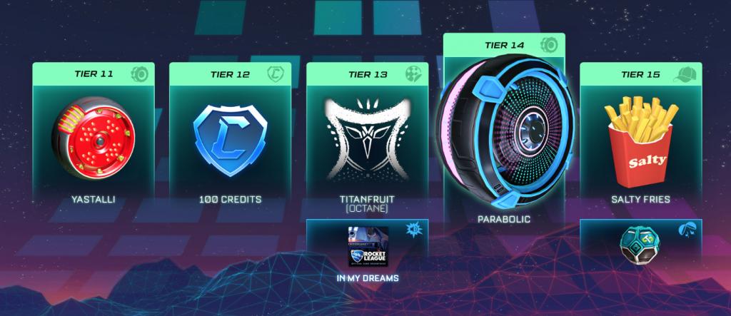 Rocket League season 2 battle pass