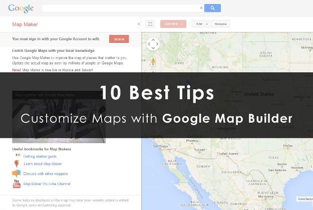 google map builder