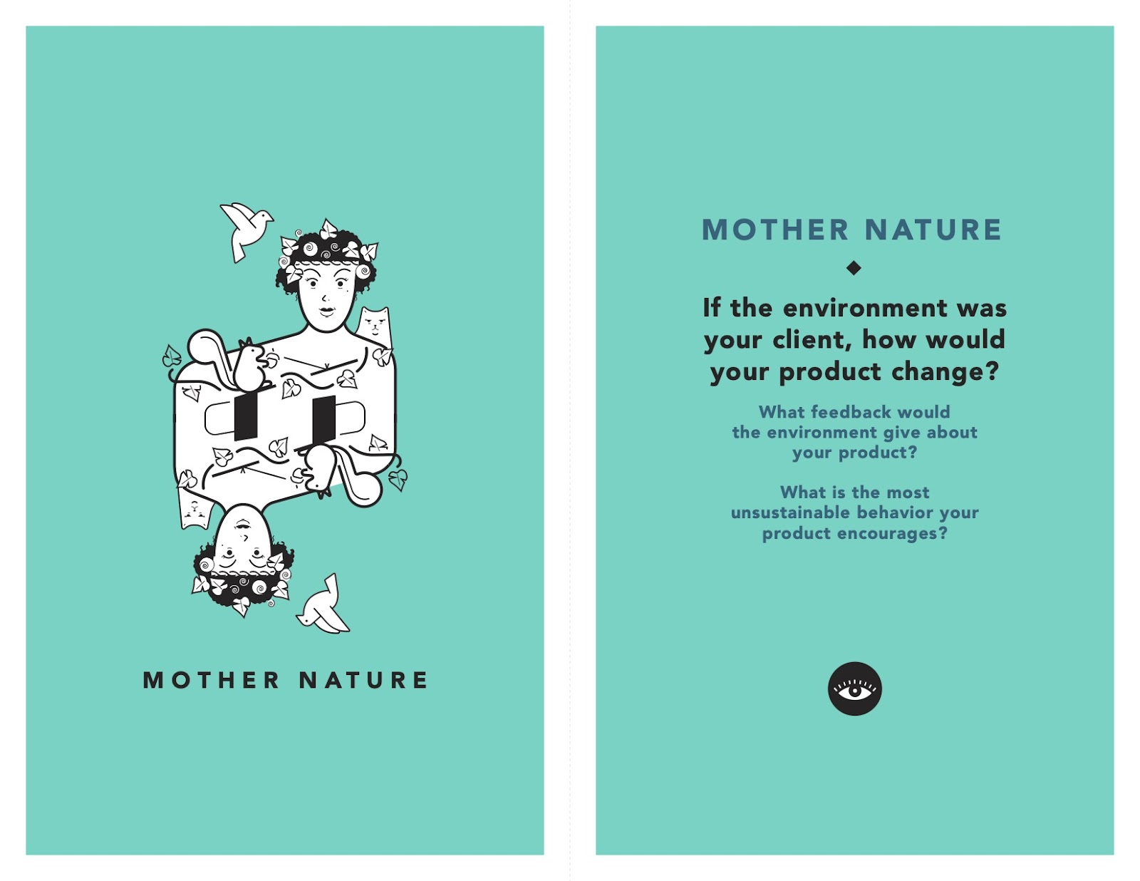 Mother Nature Tarot Cards of Tech