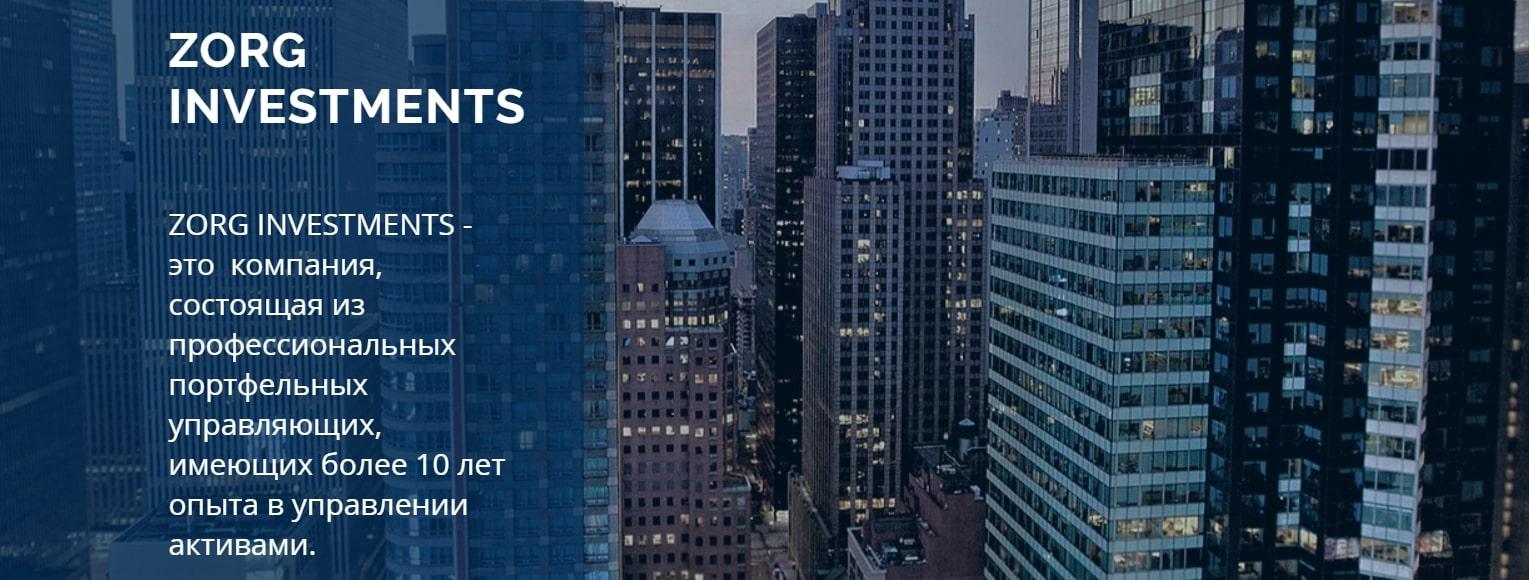 Честная компания или жулики: обзор Zorg Investments и отзывы реальных людей реальные отзывы