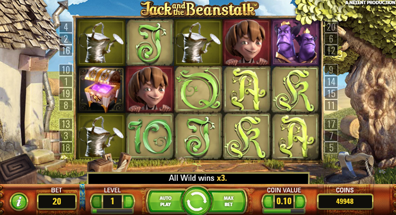 Jack and the Beanstalks slot