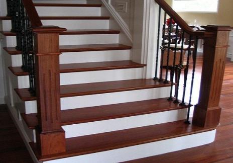 Image result for sàn gỗ công nghiệp lát cầu thang