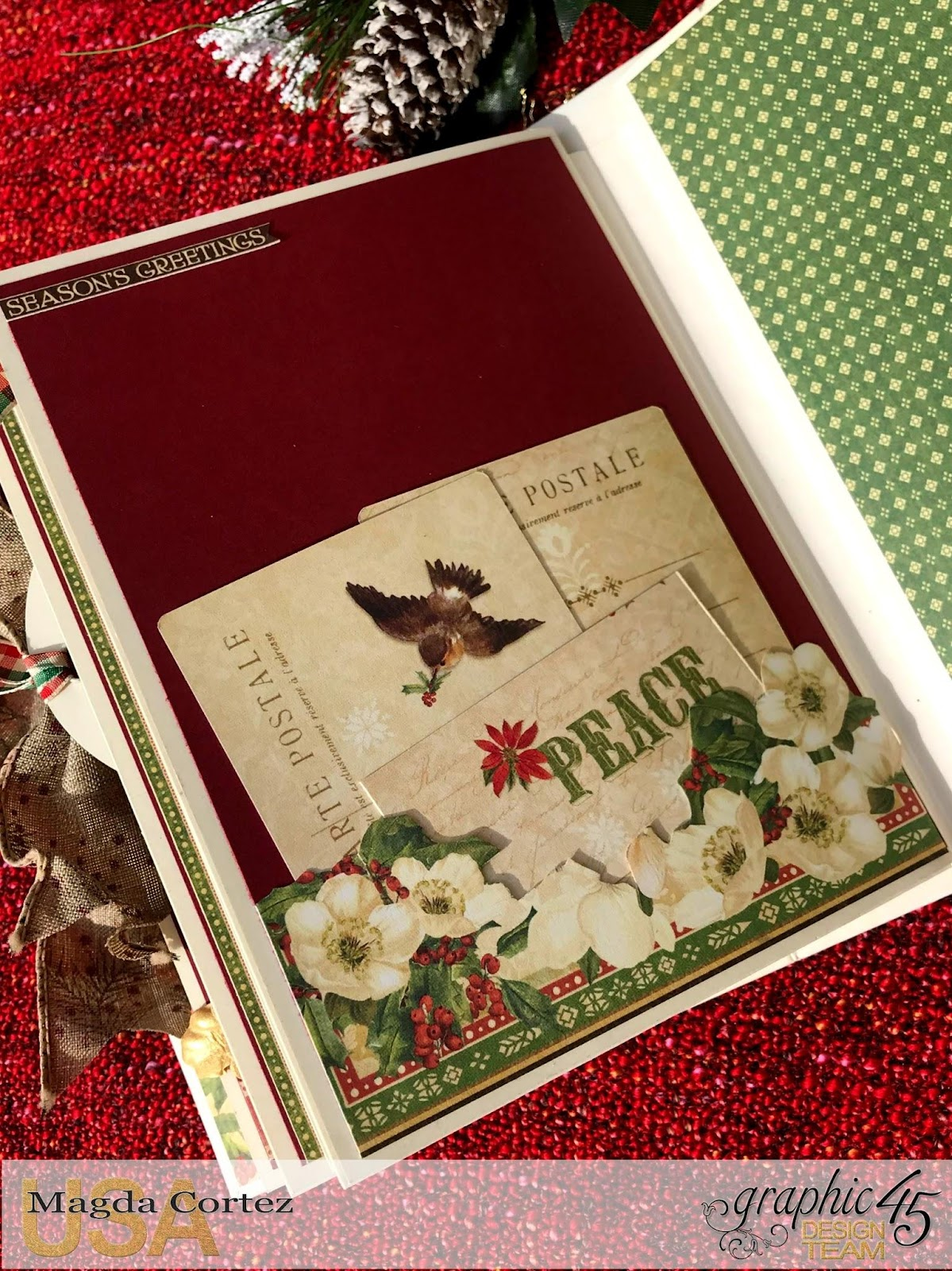Believe Mini Album,Winter Wonderland By Magda Cortez, Product by Graphic 45, Photo 09 of 11 .jpg