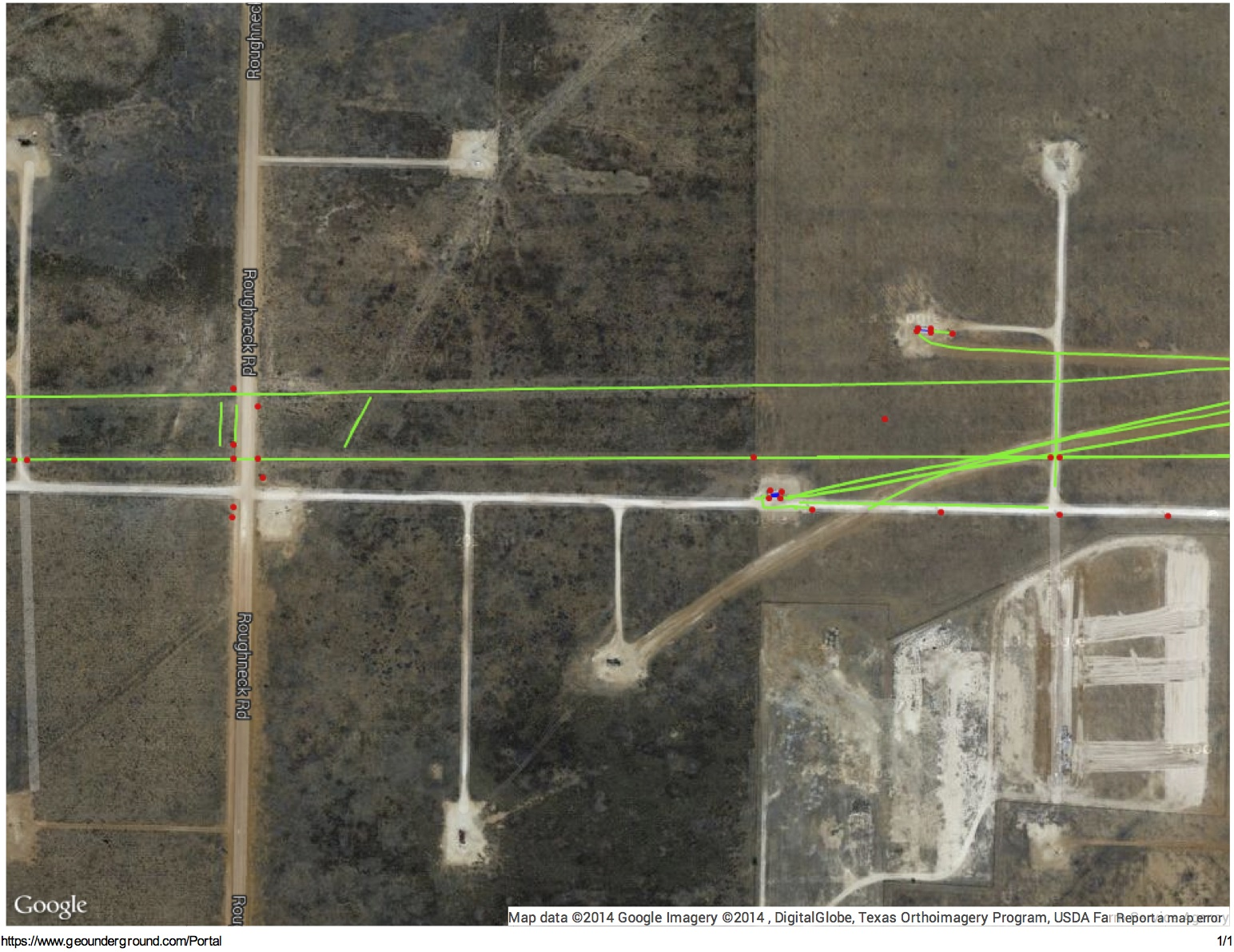 GeoUnderground - Mapping Permian Basin pipelines