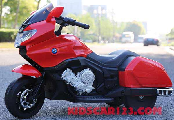 Moto điện trẻ em CX6066 màu đỏ