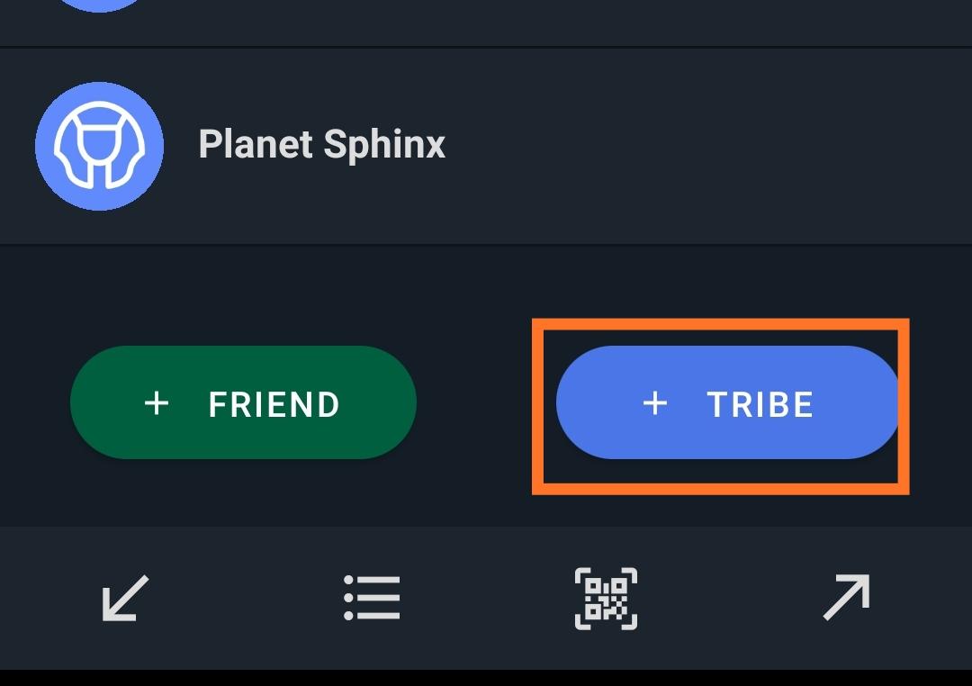 Créer un groupe sur Planet Sphinx