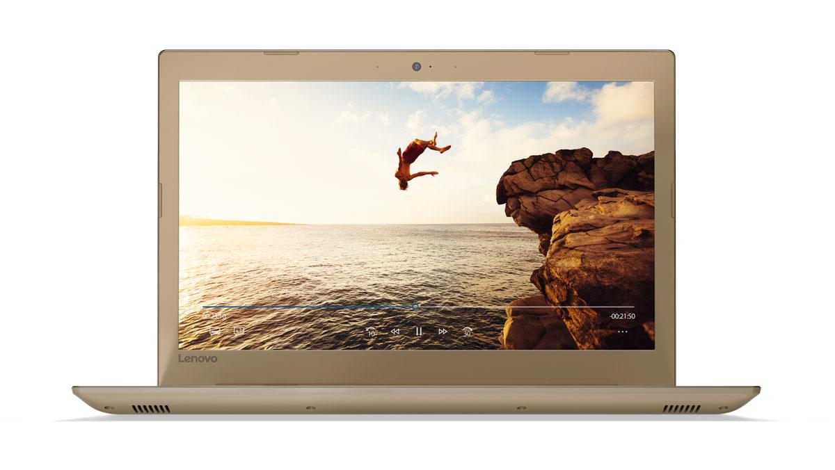 Фото 3 - Ноутбук Lenovo IdeaPad 520-15IKB Golden (81BF00EPRA)