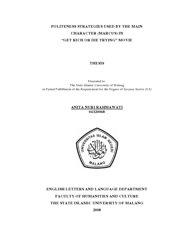 thesis written on anita nair