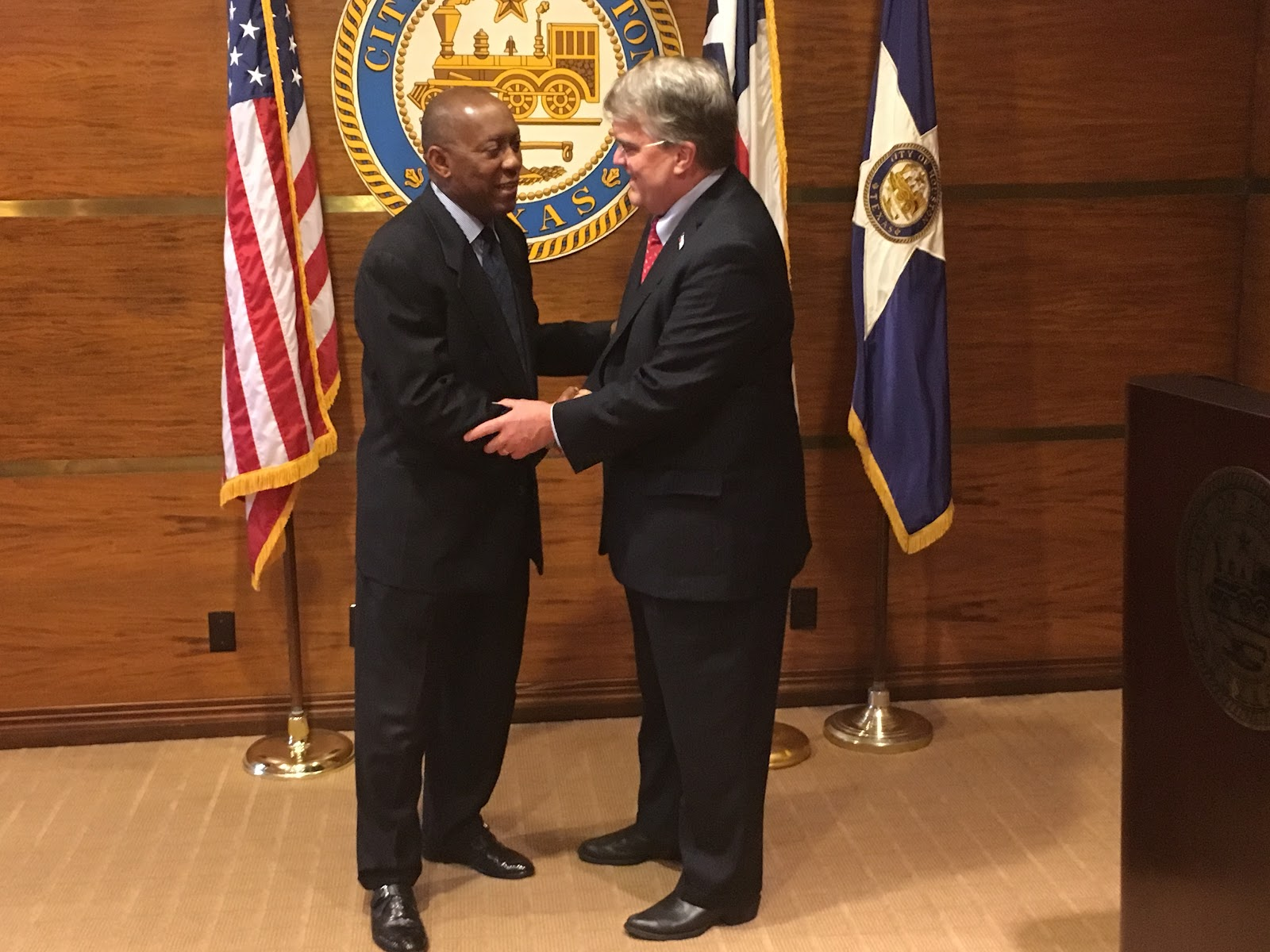 Meeting with Mayor Turner