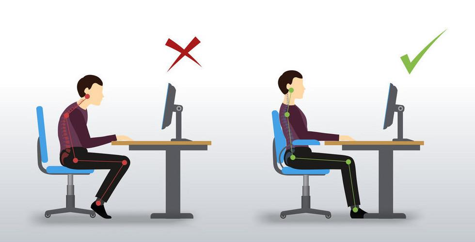 How to Fix Even the Poorest Desk Posture – Konga Fitness