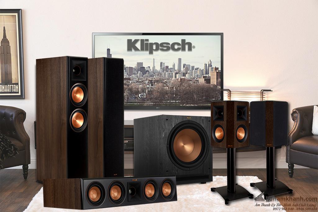 Bộ loa 5.1 Klipsch 5000F, 6000F, 8000F, 820F, 620F giá tốt, lựa chọn tuyệt vời cho phòng giải trí ch - 262953