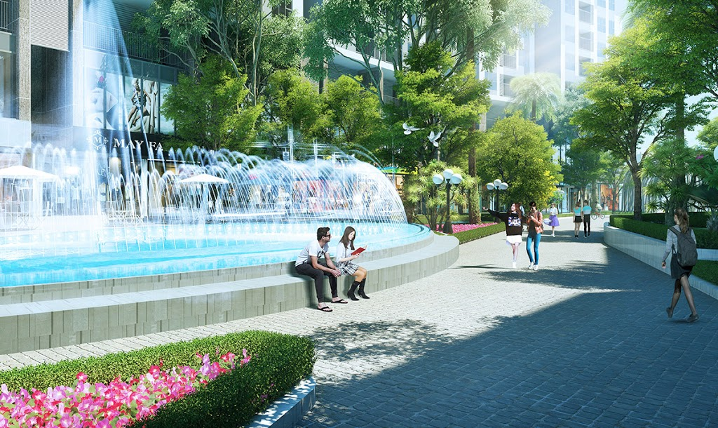 Đài phun nước imperia eden park